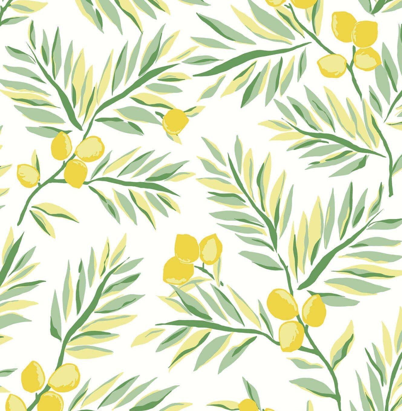 Peel And Stick Wallpaper Self Adhesive Wallpaper Lemon Etsy Peel And Stick Wallpaper Temporary Wallpaper Wallpaper Warehouse