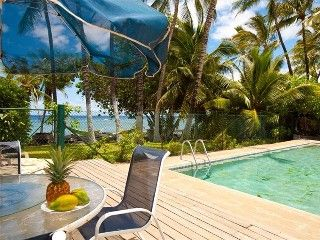 Charming Puako Beach House Oceanfront With A Pool