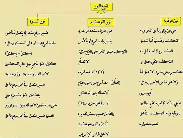 انواع النون Arabic Language Teach Arabic Language