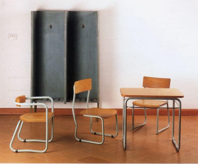 Terragni mobili ~ Giuseppe terragni. arredi per asilo santelia como italy