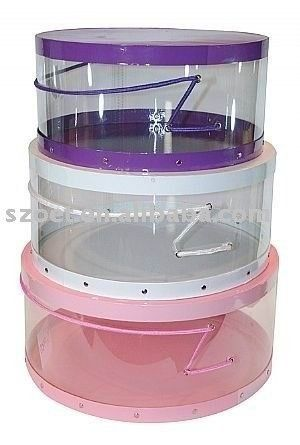 Clear Hat Boxes Hat Storage Shabby Chic Boxes Hat Boxes