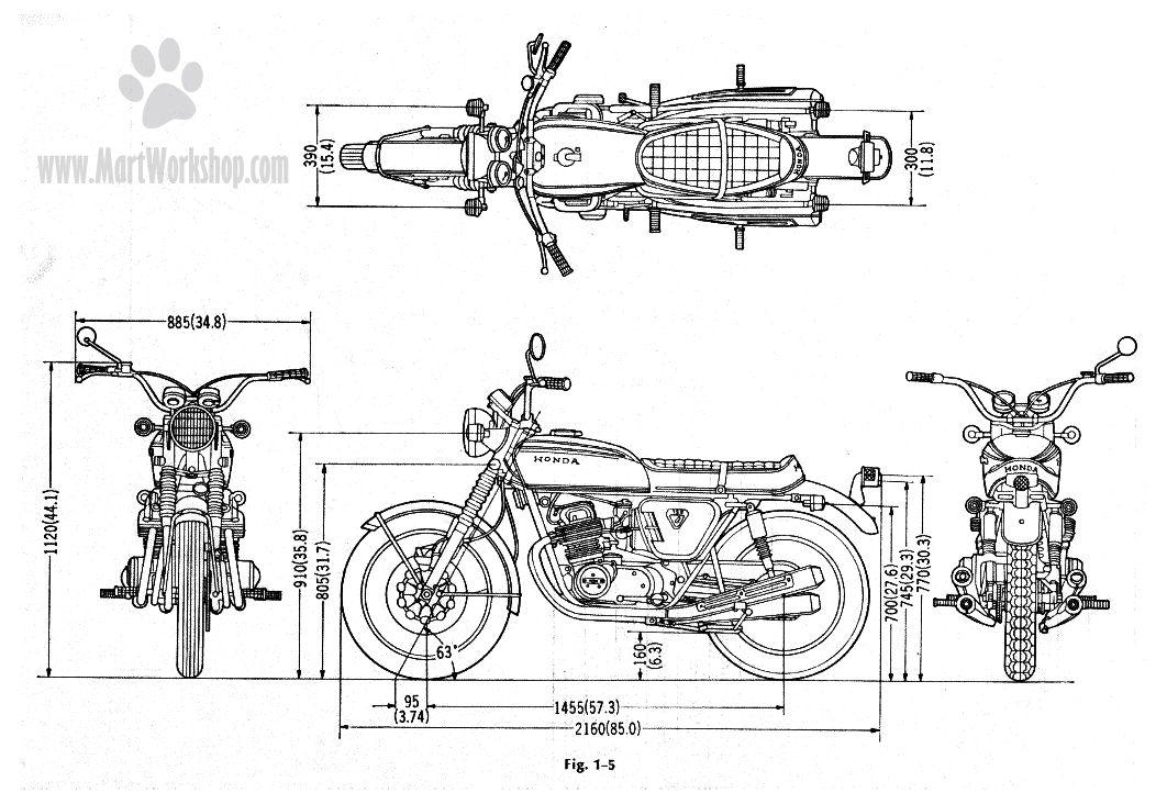 1972 cb750 Schaltplang