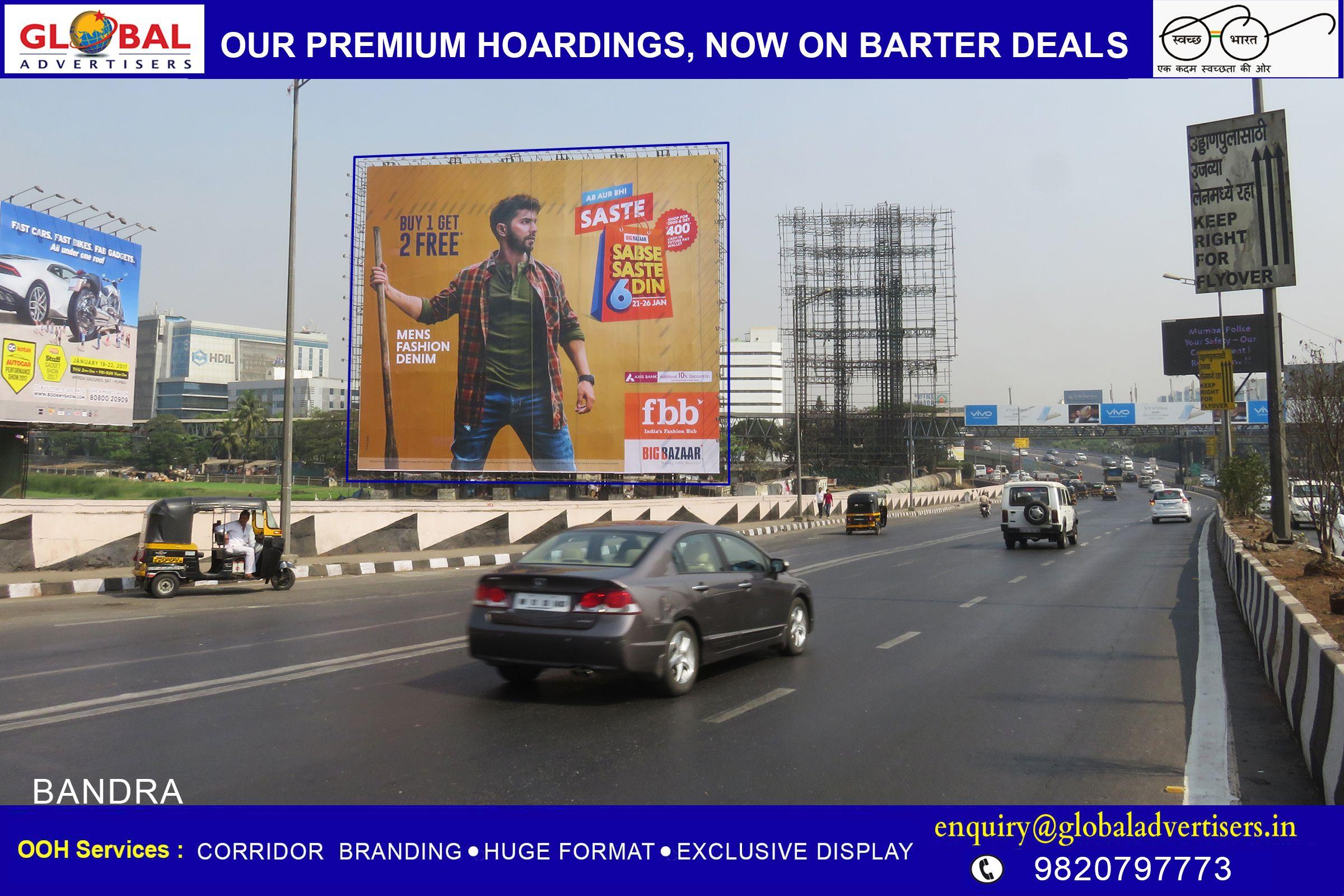 308d814062b Global Advertisers Showcases Fbb - India s Fashion Hub Big Bazaar on Asia s  Largest Hoarding.  Asia sLargestHoarding  OOHMedia  OutdoorPrormotion