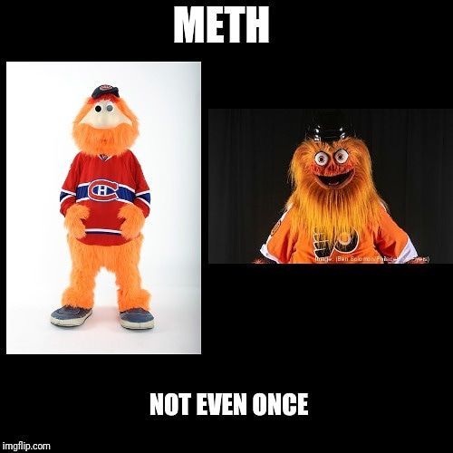 Meet Gritty. The new Philadelphia Flyers Mascott. | meme genie ...