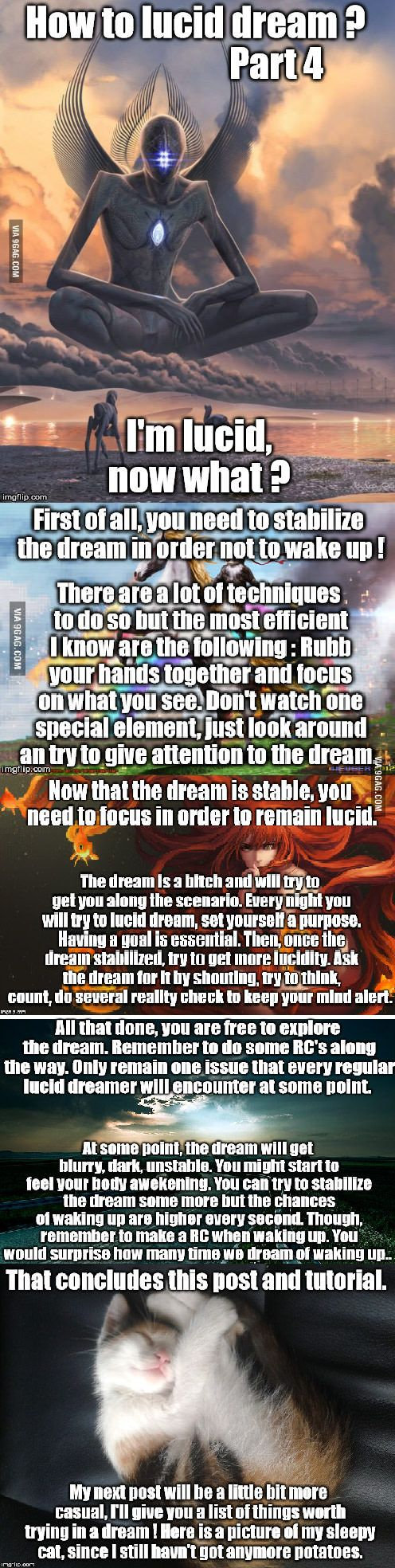 I Want To Lucid Dream Now