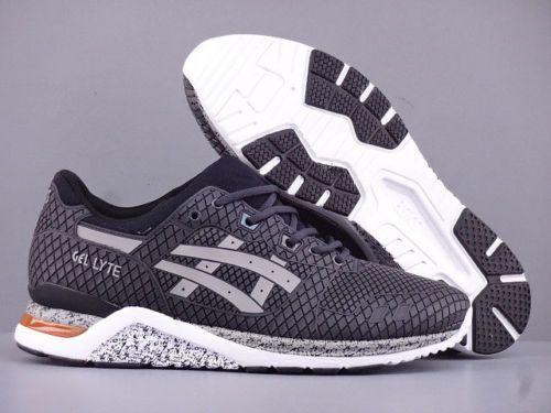 26e92204086997 Mens asics gel lyte evo nt samurai armor black casual sneakers hn543-1613  6-10
