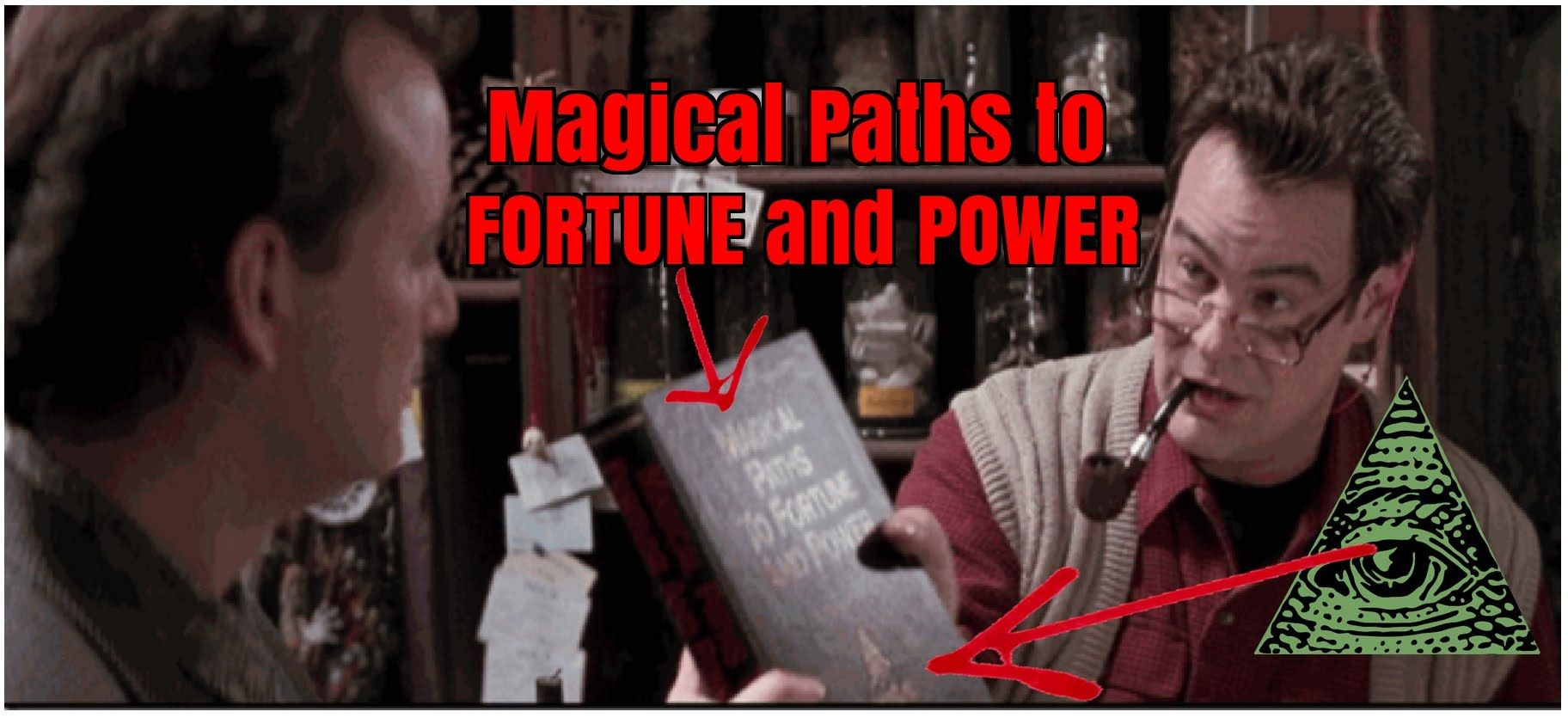 Ghostbusters 2 1989 illuminati symbolism hidden in plain sight in this video i expose satanic illuminati symbolism found in the second ghostbusters movie released in in one scene a book is visible with the title m buycottarizona