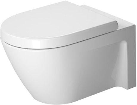 Starck 2 Toilet Wall Mounted 253409 Duravit Toilete Inodoro Suspendido Inodoro