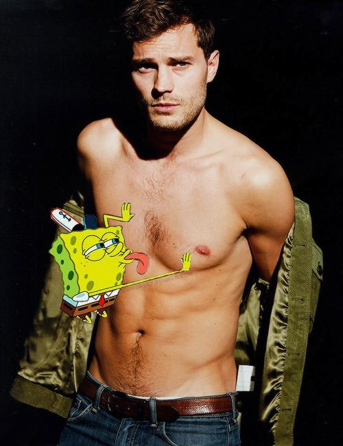 Jamie Dornan's SpongeBob dream.