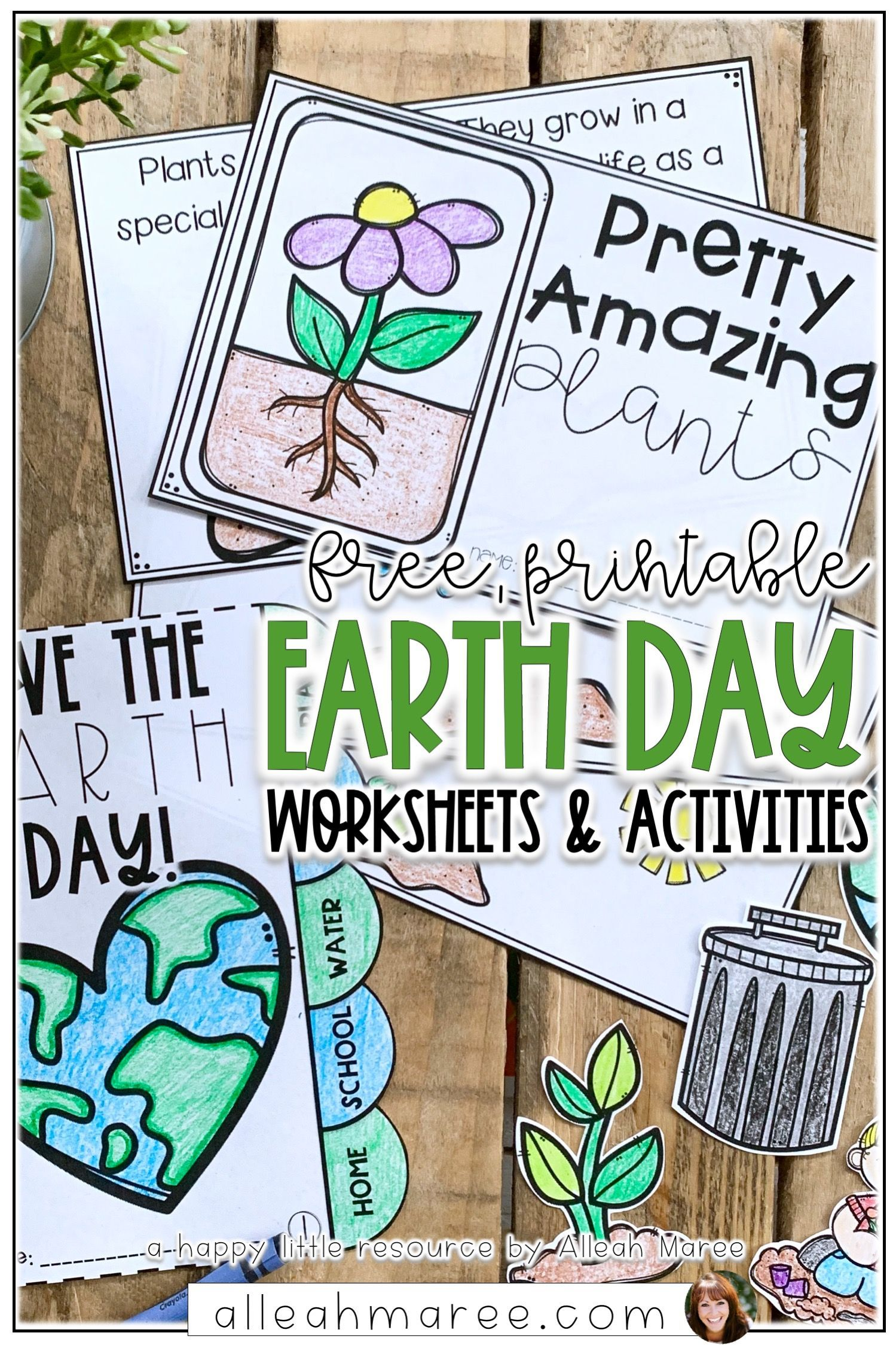 Free Earth Day Activities And Worksheets In