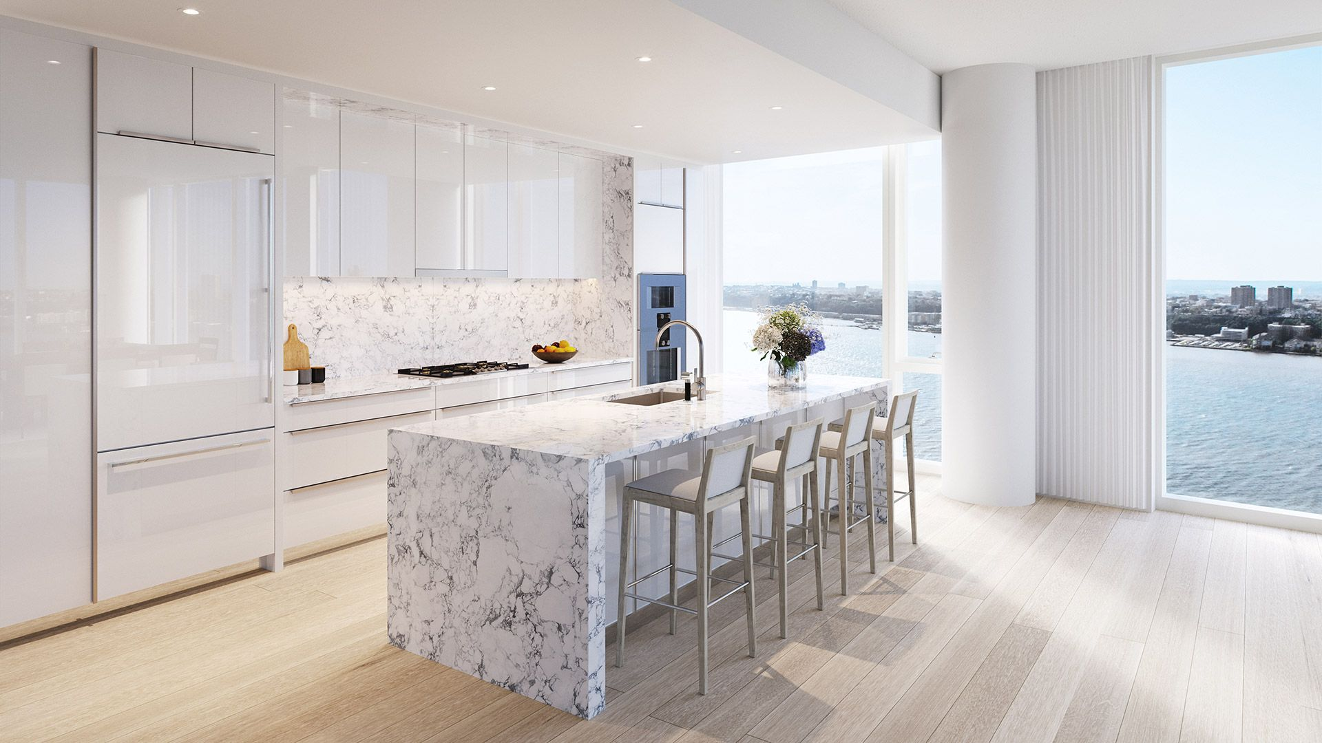Tabourets Waterline Luxury Condominiums For Sale In Nyc Waterline Square Foxboro