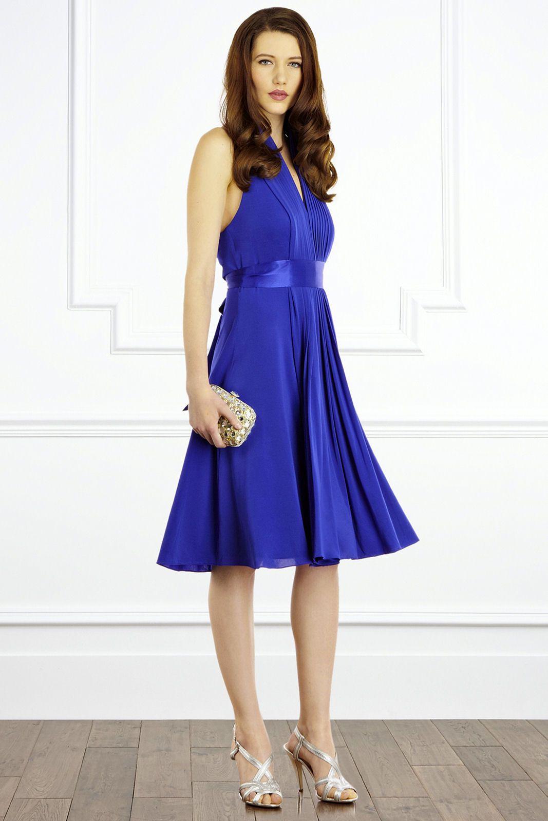 cobalt+blue+bridesmaid+dresses | Goddess Short Dress Cobalt Blue ...