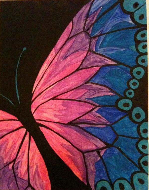 80 Easy Acrylic Canvas Painting Ideas For Beginners Easy Canvas Painting Watercolor Paintings Easy Acrylic Painting For Beginners