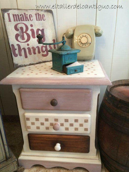 10-pintar-muebles-de-pino-miel | MUEBLES | Pinterest | Chalk paint ...