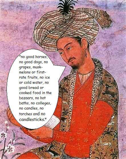 babur history in hindi pdf