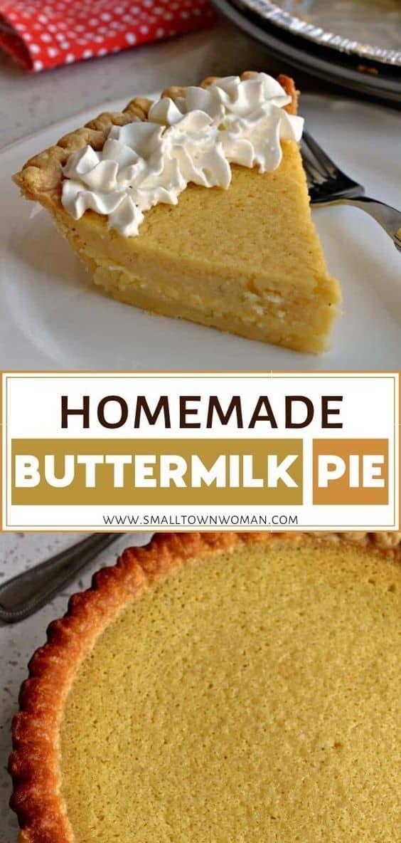 Buttermilk Pie Recipe In 2020 Buttermilk Pie Best Dessert Recipes Delicious Pies