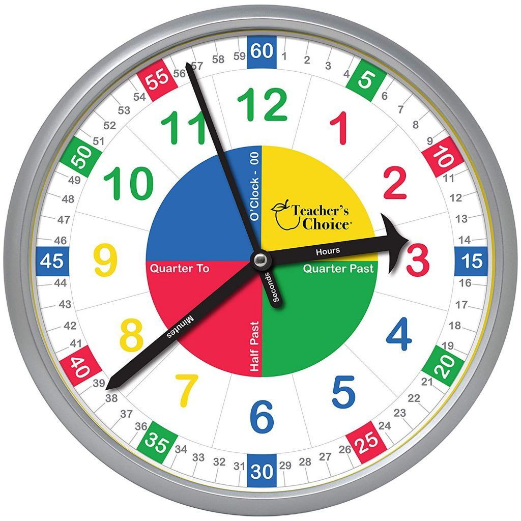 Time Is Ticking With The Easy To Learn Teaching Clock