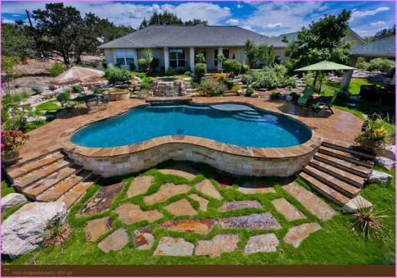 Above Ground Pool Landscape Ideas how to decorate around an above ground swimming pool Above Ground Pool Landscape Ideas
