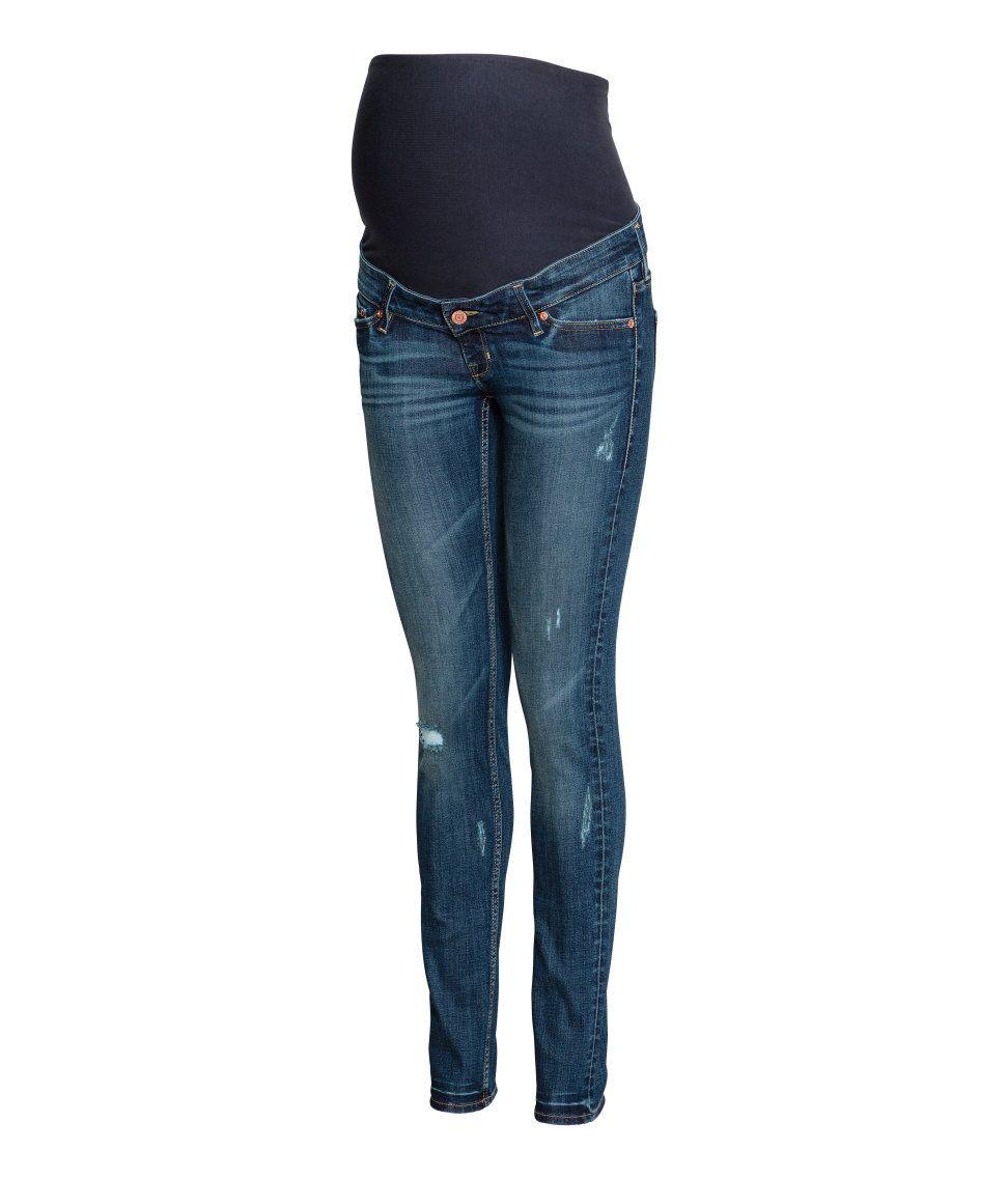 Sieh\'s dir an! Jeans aus stretchigem, gewaschenem Denim mit extra ...