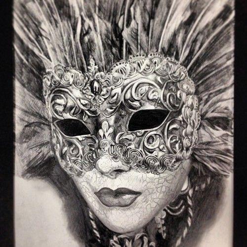 Masquerade Mask Drawing