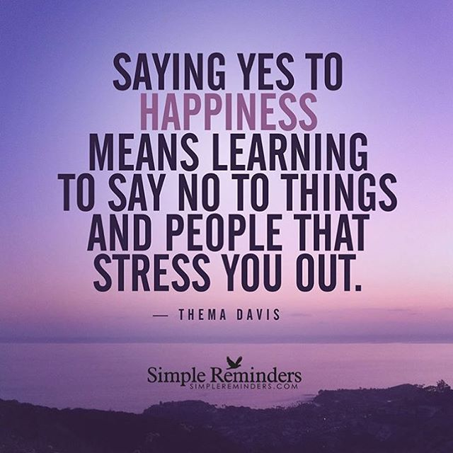 Learning To Say No, Happiness Meaning