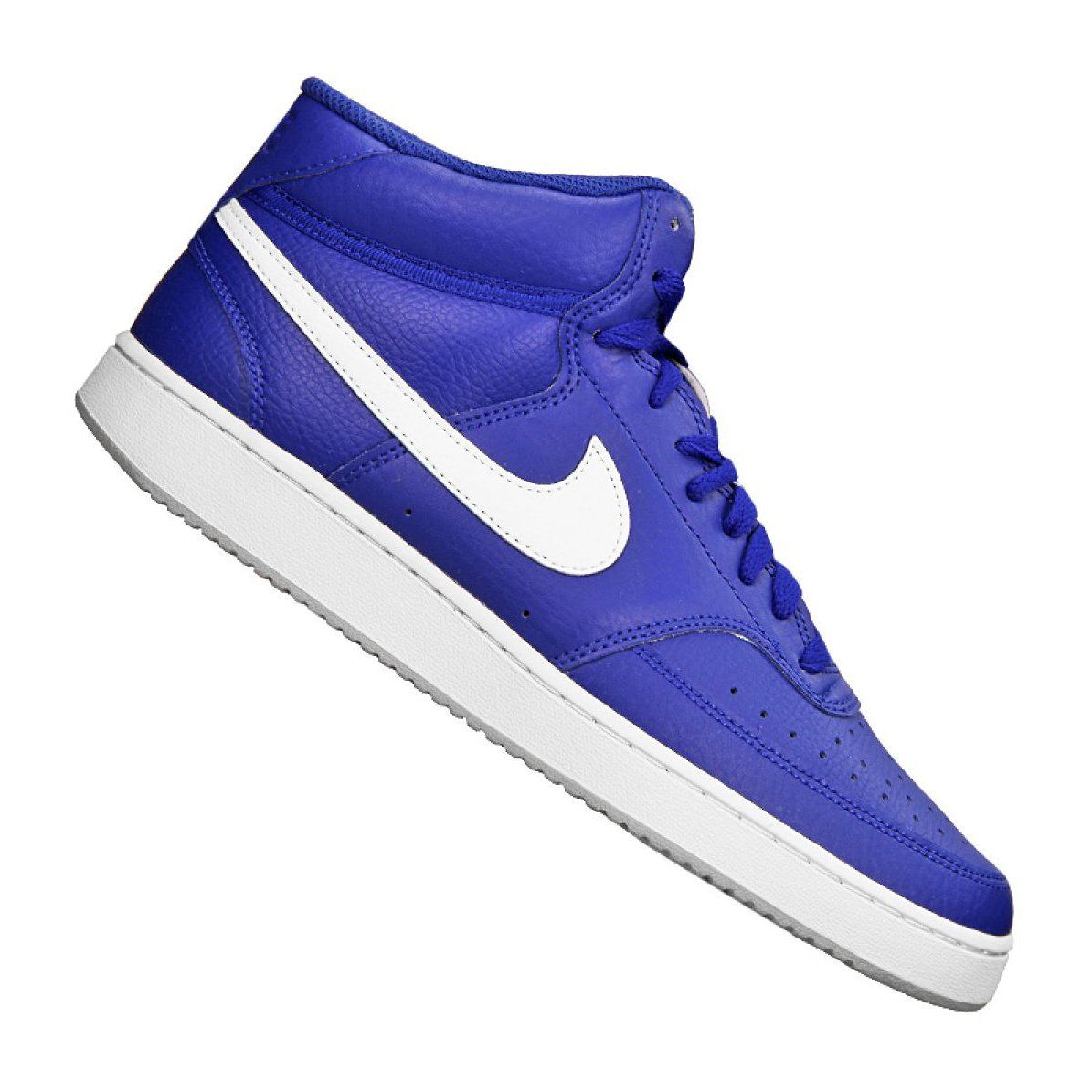 Buty Nike Court Vision Mid M Cd5466 400 Niebieskie Blue Shoes Mens Nike Shoes Nike