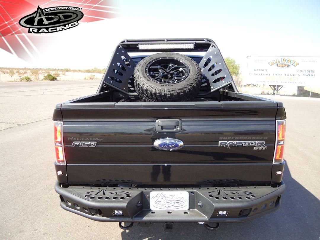 Ford raptor rear dimple r bumper