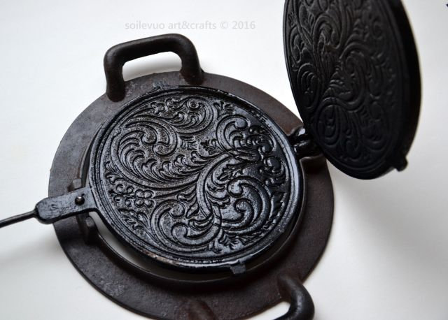 Cast Iron Waffle Makers From Norway Cast Iron Bakeware Cast Iron It Cast