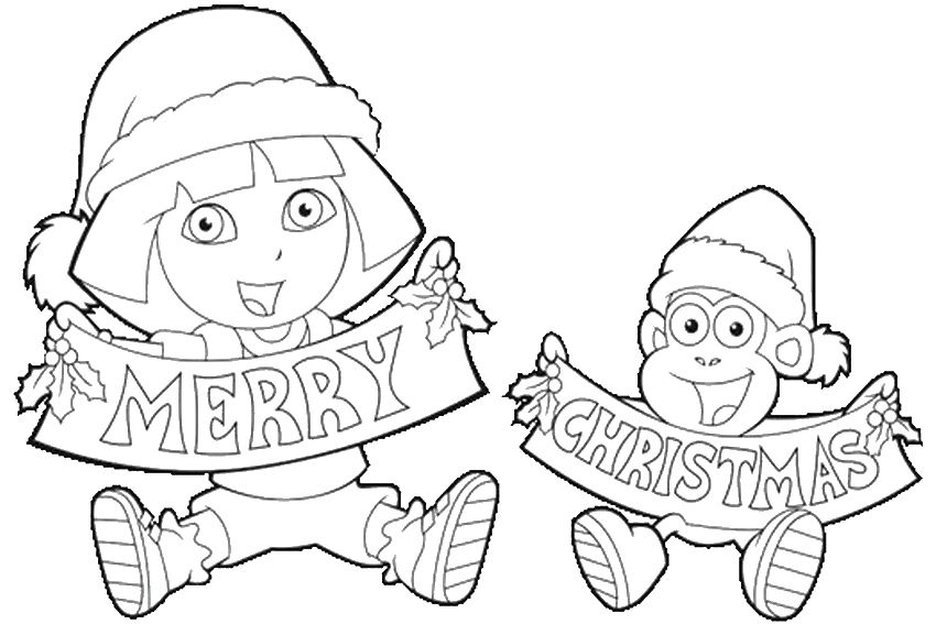 43+ Nick jr coloring pages christmas trends