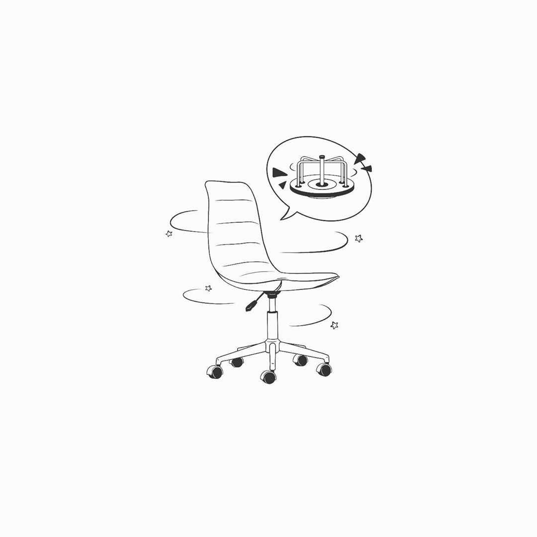 Pictochatr On Instagram You Spin Me Right Round Baby Follow Pictochatr Chair Office Officechair Spi In 2020 Doodle Drawings Drawing S Spin Me Right Round