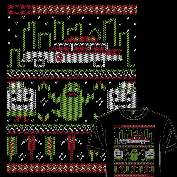 Ugly Little Spud Sweater. Ghostbusters ugly sweater. VOTE http ...