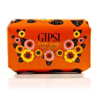 $9.28 A mass of Gipsi heat.  The colours, the music and trendy patterns are expressed in this Gipsi line that glorifies wild sensuality.  The Citrus, Lemon, Spicy, Sweet and Fruity fragrances combined with the skin warmth, simulates a sensual Latin feel.