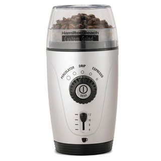 Keep the noise of a coffee grinder from waking everyone else up by wrapping it in a pillow or an oven mitt.