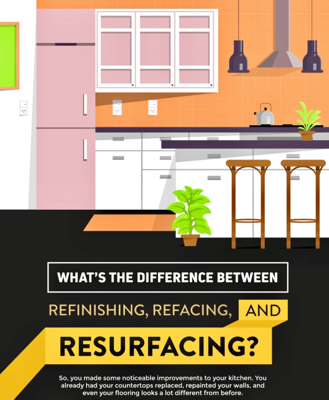 Kitchen Cabinets Refinishing Refacing Resurfacing Differences Reface Refinishing Cabinets Refinish Kitchen Cabinets