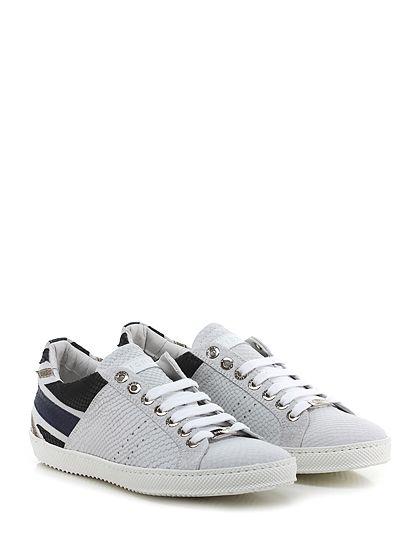 JOHN RICHMOND - Sneakers - Uomo - Sneaker in pelle stampa pitone e crosta  stampa pitone b7092004f9a