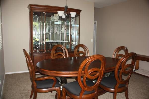 AMERICAN DREW ADVOCATE DINING ROOM SET Mint condition, gorgeous ...