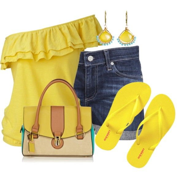 """Sunshine Days"" by colierollers on Polyvore"