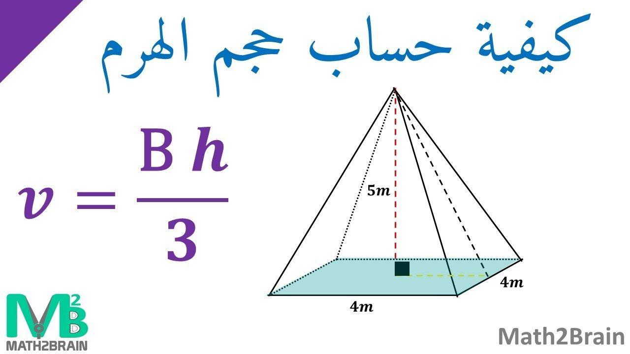 كيفية حساب حجم الهرم Chart Line Chart