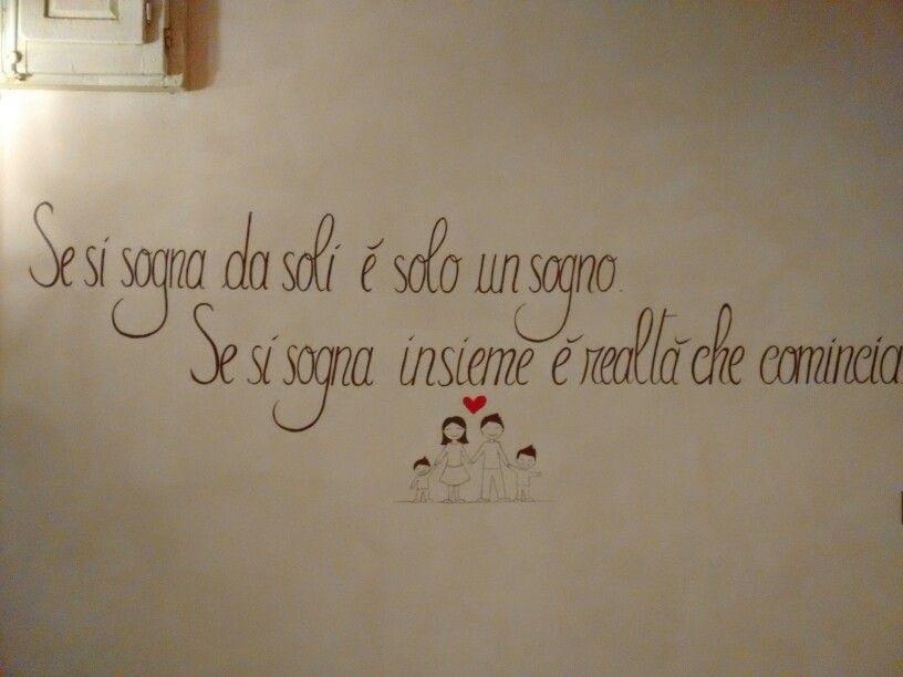 Adesivi Per Muri Interni.Scritte Per Pareti D Decorazione Camera Da Letto Pareti
