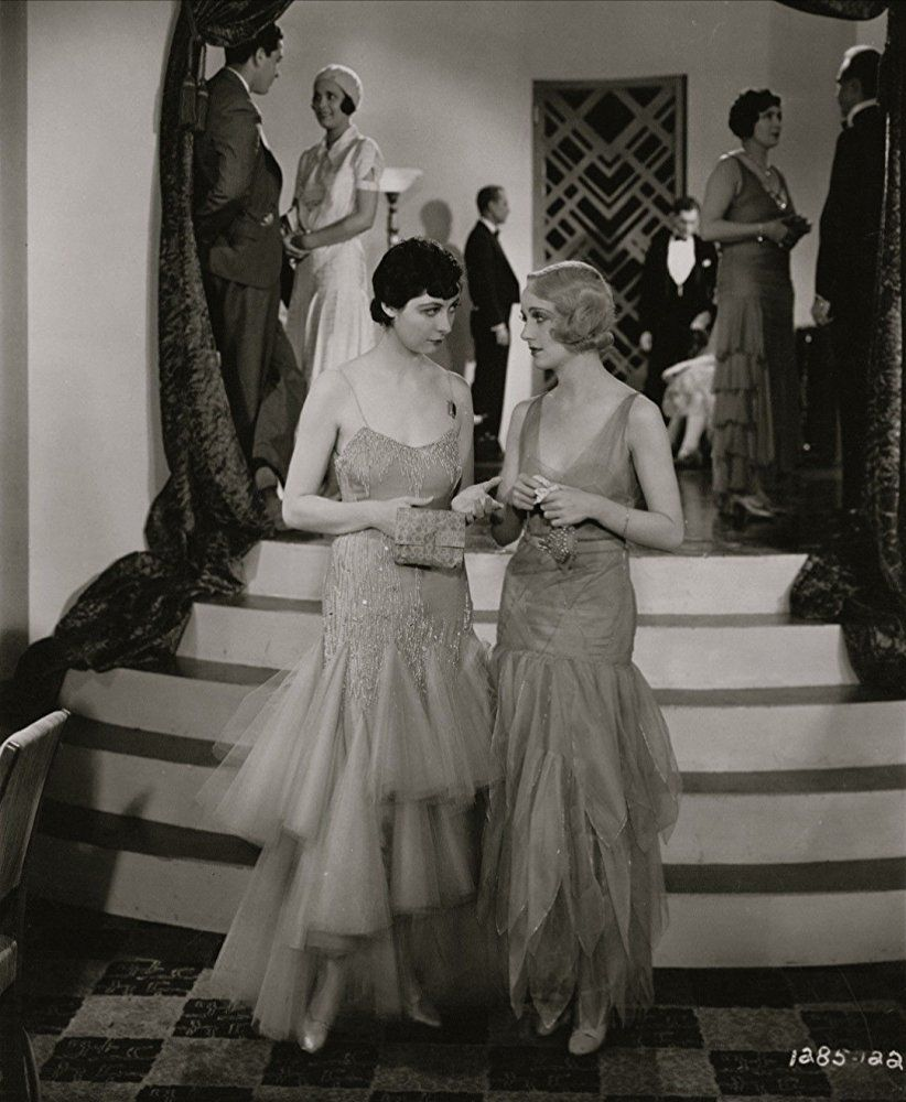 Carole Lombard and Ilka Chase in Fast and Loose (1930