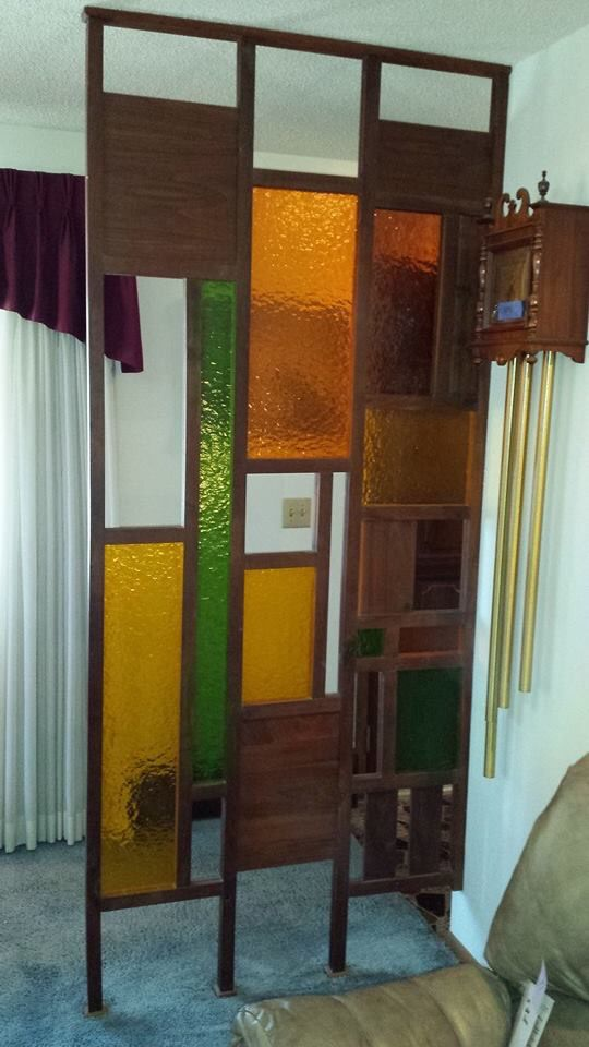 Colourful Tension Pole Divider Bamboo Room Divider Hanging Room Dividers