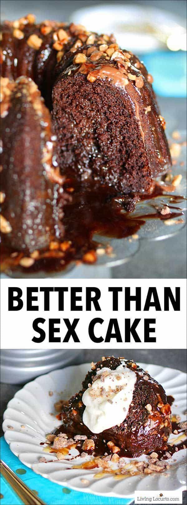Better Than Sex Chocolate Cake #chocolatedessertrecipes