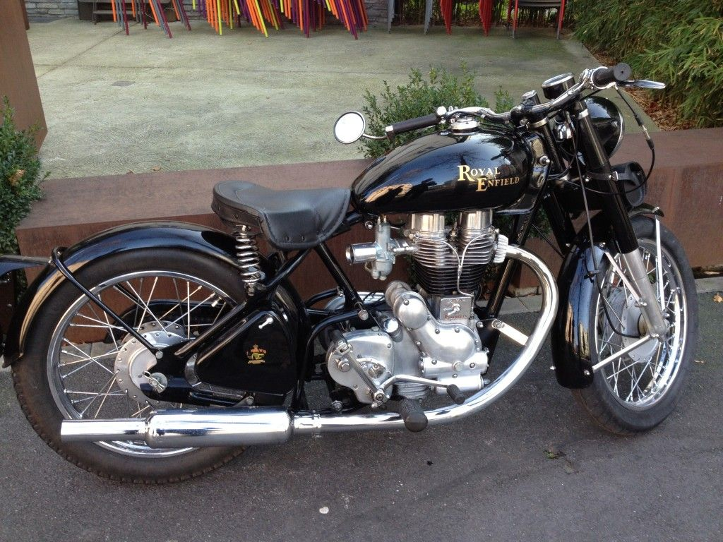 Vintage Royal Enfields Brought Back To Life Vintagerides Royal Enfield Royal Enfield India Royal Enfield Bullet