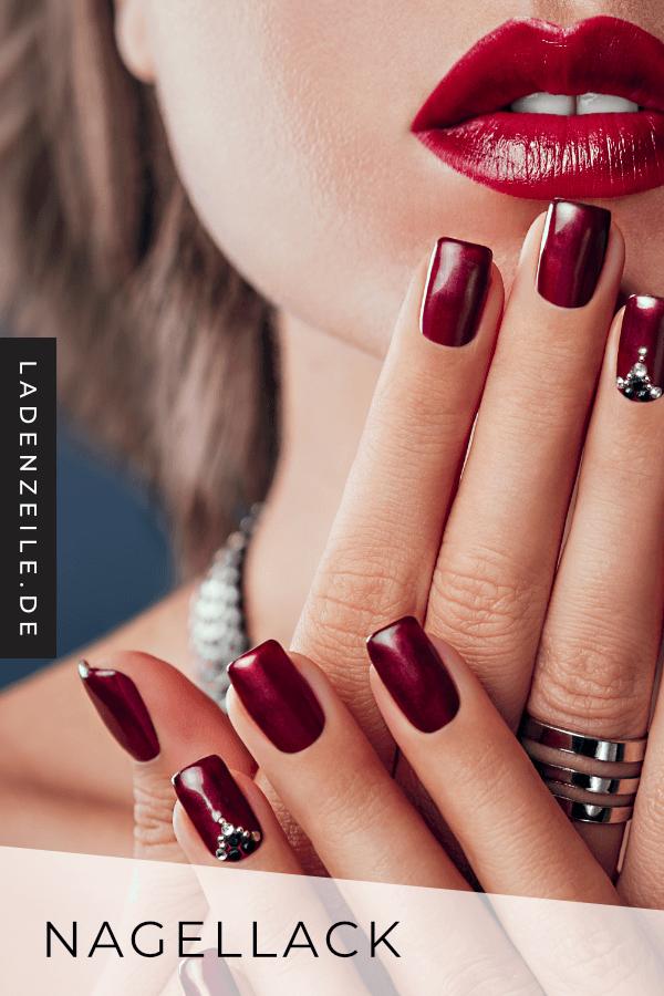 Rote Nagellacke   Roter nagellack, Nagellack, Nägel design rot
