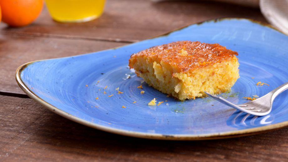Pastel de naranja (Portokalópita) - Receta - Canal Cocina