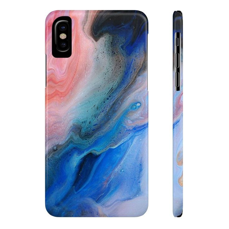 Slim Premium iPhone and Samsung Case - Oil Paint 4 - Products -