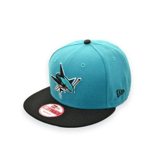 NEW ERA SAN JOSE SHARKS NHL SNAPBACK CAP  c8926fc5627