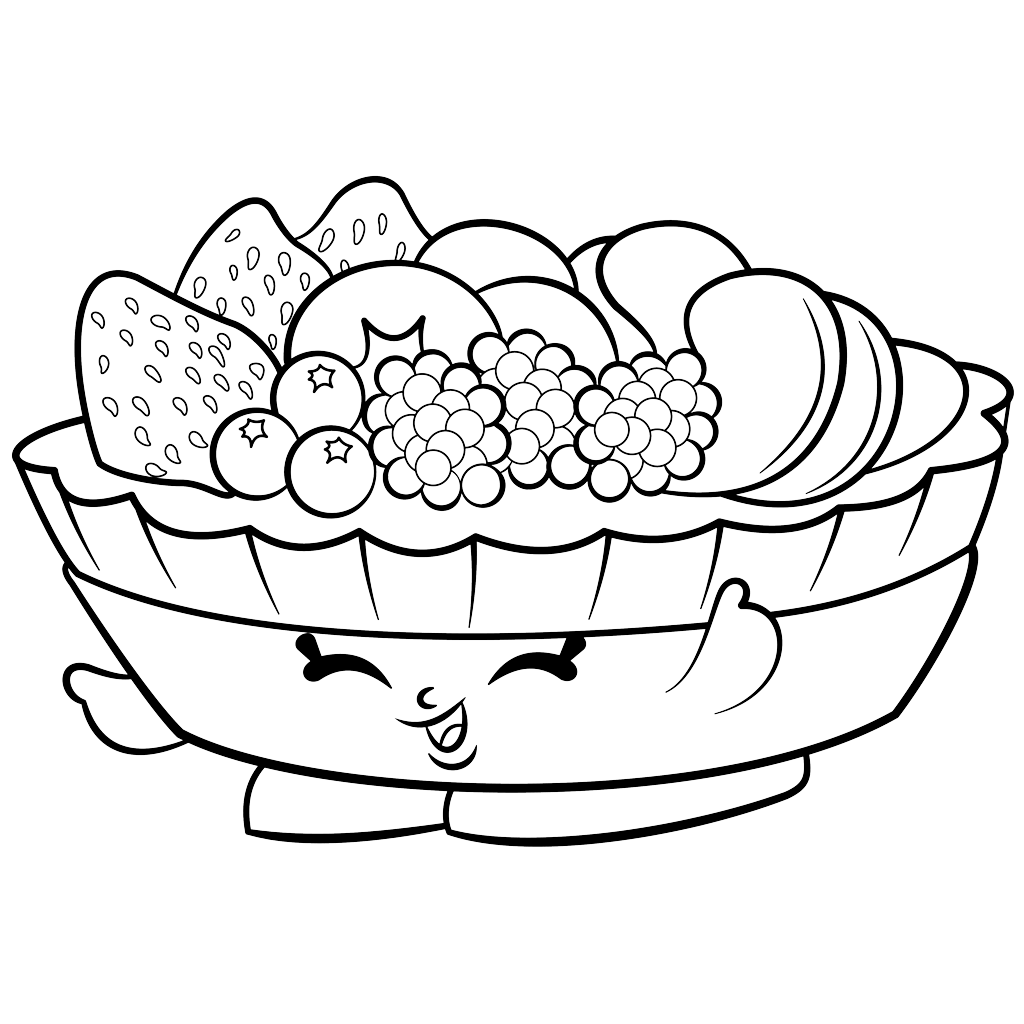 Shopkins coloring pages season 5 shopkins awesome printable coloring - Exclusive Fifi Fruit Tart To Color Shopkins Season 2 Coloring Pages Printable And Coloring Book To Print For Free Find More Coloring Pages Online For Kids