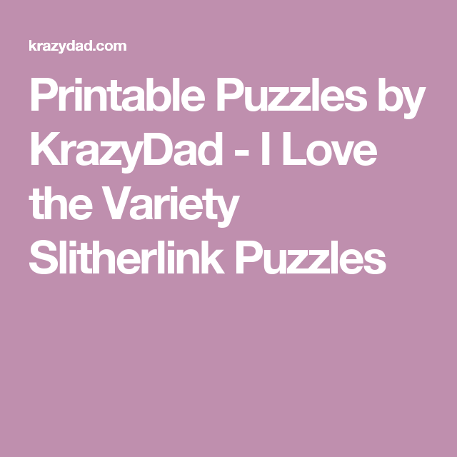 image about Krazydad Printable Sudoku identified as Printable Puzzles by means of KrazyDad - Plenty of option puzzles in the direction of