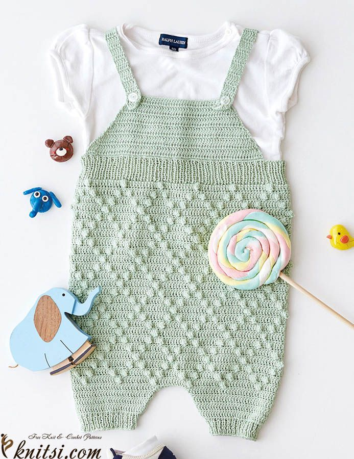 Romper crochet pattern free knitsi.com/knitting-for-boys/393-free ...